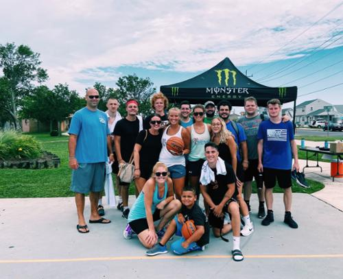 After working unti 4AM, Keenan's Irish Pub employees still made their way out to support the Step Back Foundation at our second annual 3v3 Tournament!