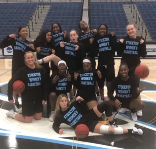 New Chapter! I transferred to Stockton University, where I am on the women's basketball team.